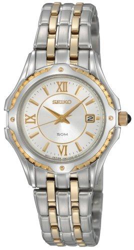 セイコー 腕時計 レディース SXDC36 Seiko Women's SXDC36 Two-Tone Le Grand Sport White Dial Watchセイコー 腕時計 レディース SXDC36