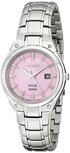 "セイコー 腕時計 レディース SUT127 【送料無料】Seiko Women""s SUT127 Dress Solar Analog Display Japanese Quartz Silver Watchセイコー 腕時計 レディース SUT127"