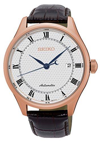 セイコー 腕時計 メンズ Automatik 【送料無料】Seiko Automatic SRP772 White Dial Brown Leather Band Men's Watchセイコー 腕時計 メンズ Automatik