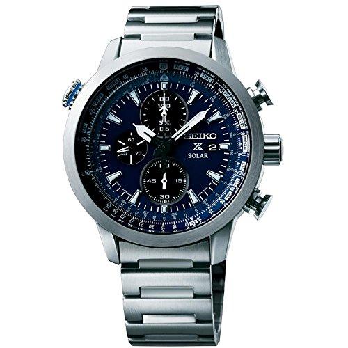 セイコー 腕時計 メンズ SSC347P1 Seiko Mens Prospex Prospex Sky Analog Business Solar Watch (Imported) SSC347P1セイコー 腕時計 メンズ SSC347P1
