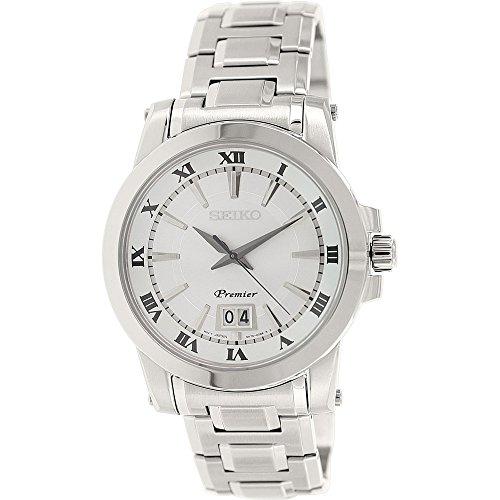 セイコー 腕時計 メンズ SUR013 【送料無料】Seiko SUR013P1 Premier Three-Hand Stainless Steel Men's watchセイコー 腕時計 メンズ SUR013