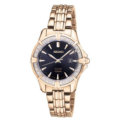 セイコー 腕時計 レディース SUT078 【送料無料】Seiko Solar 3-Hand with Date Women's Watch #SUT078セイコー 腕時計 レディース SUT078