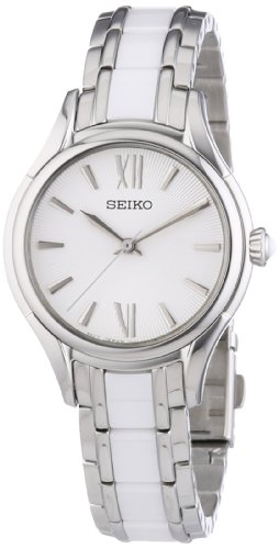 セイコー 腕時計 レディース Damenuhren Seiko SRZ395 29.6 Silver Steel Bracelet & Case Mineral Women's Quartz Watchセイコー 腕時計 レディース Damenuhren