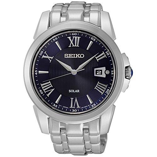 247eab3bca72 Band Black Dial Watchセイコー 腕時計 メンズ 腕時計(P-Z) SNE395 セイコー 腕時計 メンズ SNE395 Seiko  SNE395 Men's Le Grand Sport Silver Bracelet Seiko( ...
