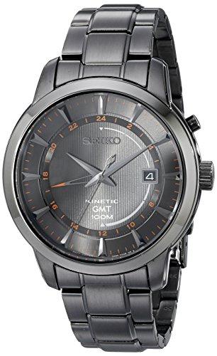 セイコー 腕時計 メンズ SUN039 【送料無料】Seiko Men's SUN039 Analog Display Analog Quartz Black Watchセイコー 腕時計 メンズ SUN039