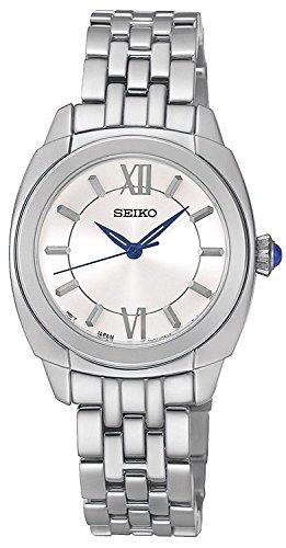 セイコー 腕時計 レディース SRZ425 【送料無料】Seiko Classic Silver Dial Stainless Steel Ladies Watch SRZ425P1セイコー 腕時計 レディース SRZ425