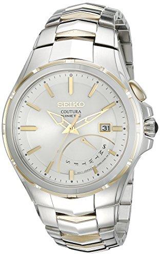"""セイコー 腕時計 メンズ SRN064 【送料無料】Seiko Men""""s SRN064 Coutura Kinetic Retrograde Two-Tone Stainless Steel Watchセイコー 腕時計 メンズ SRN064"""