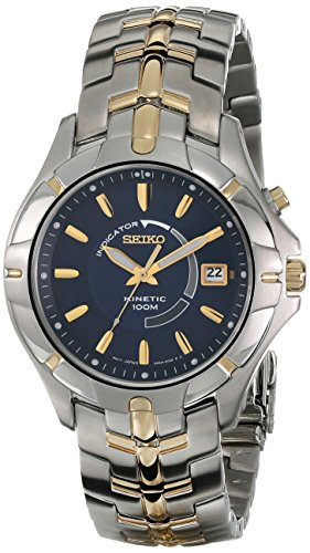 セイコー 腕時計 メンズ SKA402 Seiko Men's SKA402 Kinetic Two-Tone Watchセイコー 腕時計 メンズ SKA402