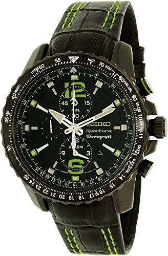 セイコー 腕時計 メンズ SNAE97P1 Seiko Men's SNAE97P1 Black PVD Stainless Steel Chronograph Watchセイコー 腕時計 メンズ SNAE97P1