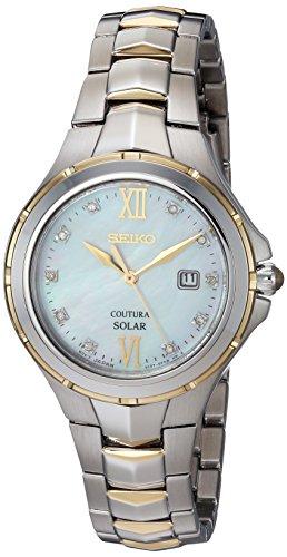 セイコー 腕時計 レディース SUT308 【送料無料】Seiko Women's Japanese-Quartz Watch with Stainless-Steel Strap, Two Tone, 15.4 (Model: SUT308)セイコー 腕時計 レディース SUT308