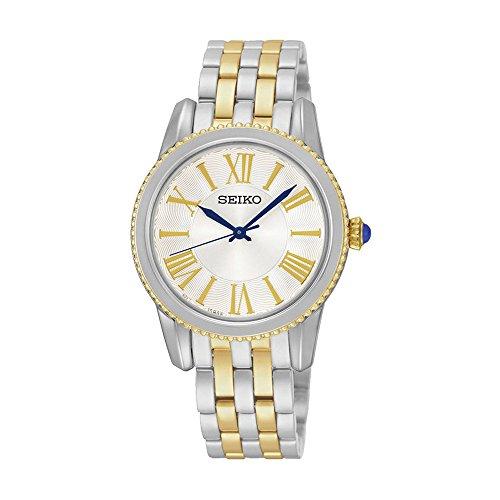 セイコー 腕時計 レディース 夏のボーナス特集 SRZ438P1 Seiko Women's SRZ438 Silver Stainless-Steel Quartz Watchセイコー 腕時計 レディース 夏のボーナス特集 SRZ438P1