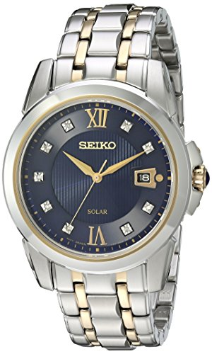 """セイコー 腕時計 メンズ SNE428 【送料無料】Seiko Men""""s Japanese Quartz Stainless Steel Watch, Color:Two Tone (Model: SNE428)セイコー 腕時計 メンズ SNE428"""