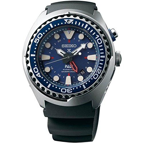 セイコー 腕時計 メンズ SUN065 Seiko SUN065 Special Edition Padi Kinetic GMT Diver Watch by Seiko Watchesセイコー 腕時計 メンズ SUN065
