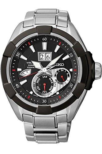 セイコー 腕時計 メンズ SNP101 【送料無料】SEIKO SNP101P1 Men's Velatura Kinetic Perpetual,Sapphire Crystal,100m WR,SNP101セイコー 腕時計 メンズ SNP101