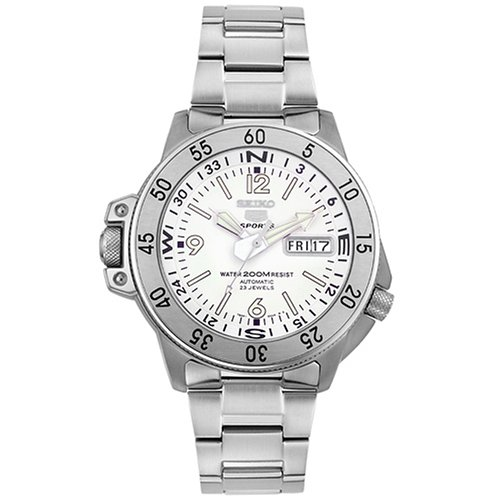 セイコー 腕時計 メンズ SKZ207K1 【送料無料】Seiko Men's SKZ207K1 Five Sports Stainless Steel Automatic Watchセイコー 腕時計 メンズ SKZ207K1
