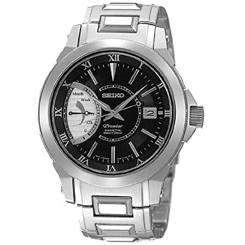 腕時計 セイコー メンズ SRG001P1 【送料無料】Seiko Premier Men's Kinetic Watch SRG001腕時計 セイコー メンズ SRG001P1