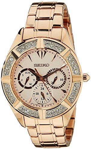 セイコー 腕時計 メンズ SKY680P1 【送料無料】Seiko Multi-Function Rose Dial Rose Gold-tone Mens Watch SKY680P1セイコー 腕時計 メンズ SKY680P1