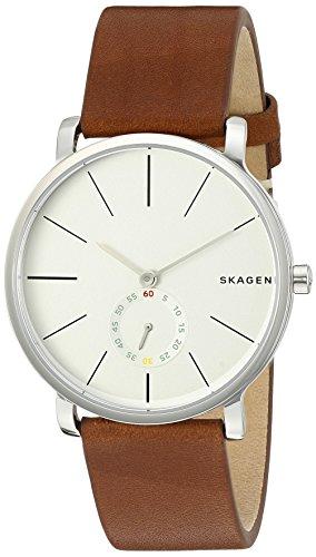 スカーゲン 腕時計 メンズ SKW6273 Skagen Men's SKW6273 Hagen Dark Brown Leather Watchスカーゲン 腕時計 メンズ SKW6273