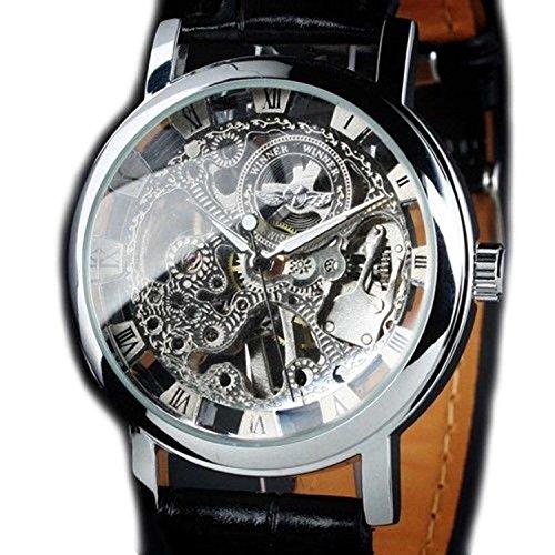 スチームパンク steampunk メンズ 腕時計 懐中時計 【送料無料】STEAMPUNK New Mens Swiss Design Men's Silver Skeleton Man's Mechanical Watchスチームパンク steampunk メンズ 腕時計 懐中時計