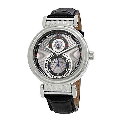ルシアンピカール 腕時計 メンズ LP-10619-014 【送料無料】Lucien Piccard Men's 'Polaris' Quartz Stainless Steel and Black Leather Casual Watch (Model: LP-10619-014)ルシアンピカール 腕時計 メンズ LP-10619-014