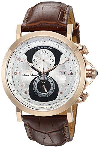 ルシアンピカール 腕時計 メンズ 40015-RG-02S-BRW Lucien Piccard Pegasus Chronograph Men's Watch LP-40015-RG-02S-BRWルシアンピカール 腕時計 メンズ 40015-RG-02S-BRW