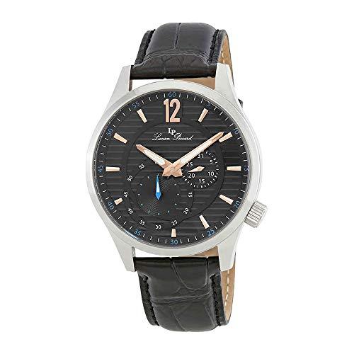 ルシアンピカール 腕時計 メンズ LP-40022-01-RA 【送料無料】Lucien Piccard Burano Black Dial Men's Dress Watch LP-40022-01-RAルシアンピカール 腕時計 メンズ LP-40022-01-RA