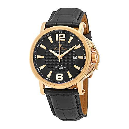 ルシアンピカール 腕時計 メンズ LP-40018-RG-01 Lucien Piccard Triomf Rose Black Men's Watch LP-40018-RG-01ルシアンピカール 腕時計 メンズ LP-40018-RG-01