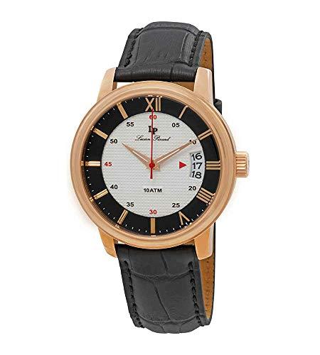 ルシアンピカール 腕時計 メンズ LP-40019-RG-02S-BC 【送料無料】Lucien Piccard Amici White & Black Dial Men's Watch LP-40019-RG-02S-BCルシアンピカール 腕時計 メンズ LP-40019-RG-02S-BC