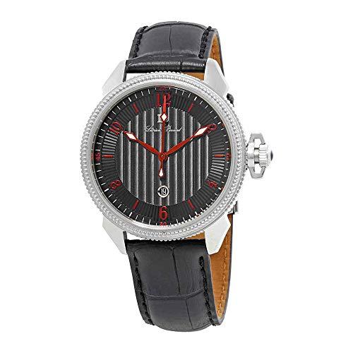 ルシアンピカール 腕時計 メンズ LP-40053-01-RDA 【送料無料】Lucien Piccard Trevi Black Dial Men's Watch 40053-01-RDAルシアンピカール 腕時計 メンズ LP-40053-01-RDA