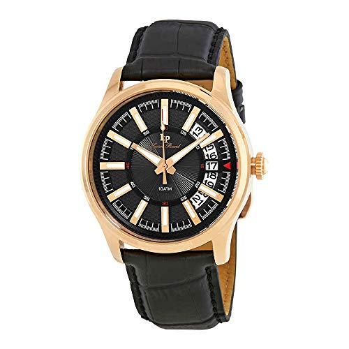 腕時計 ルシアンピカール メンズ LP-40025-RG-01 【送料無料】Lucien Piccard Del Campo Black Dial Men's Watch LP-40025-RG-01腕時計 ルシアンピカール メンズ LP-40025-RG-01