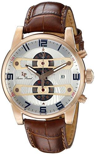 ルシアンピカール 腕時計 メンズ LP-40045-RG-02S-BRW Lucien Piccard Bosphorus Chronograph Men's Watch LP-40045-RG-02S-BRWルシアンピカール 腕時計 メンズ LP-40045-RG-02S-BRW