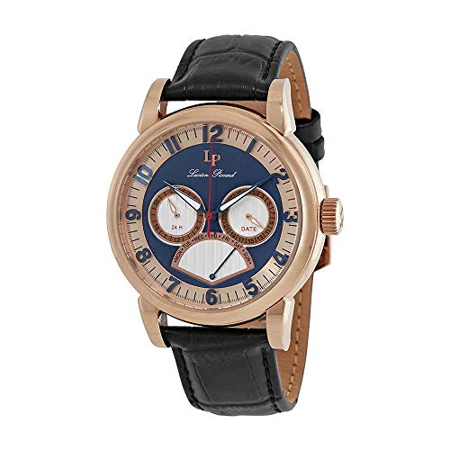 腕時計 ルシアンピカール メンズ LP-15051-RG-03 【送料無料】Lucien Piccard Montana Retrograde Day Men's Watch LP-15051-RG-03腕時計 ルシアンピカール メンズ LP-15051-RG-03