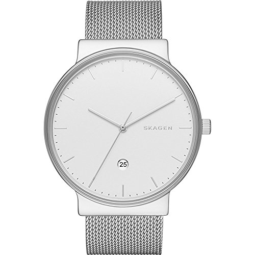 スカーゲン 腕時計 メンズ SKW6290 【送料無料】Skagen Men's Ancher Quartz Stainless Steel Mesh Casual Watch, Color: Silver-Tone (Model: SKW6290)スカーゲン 腕時計 メンズ SKW6290