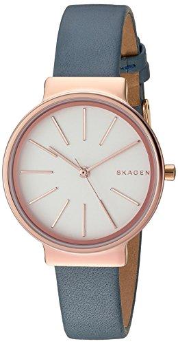 スカーゲン 腕時計 レディース SKW2482 Skagen Women's SKW2482 Ancher Blue Leather Watchスカーゲン 腕時計 レディース SKW2482
