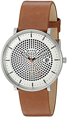 スカーゲン 腕時計 メンズ SKW6277 Skagen Men's SKW6277 Hald Dark Brown Leather Watchスカーゲン 腕時計 メンズ SKW6277