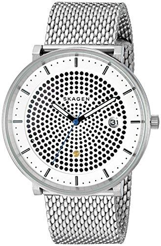 """スカーゲン 腕時計 メンズ SKW6278 【送料無料】Skagen Men""""s SKW6278 Hald Stainless Steel Mesh Analog Quartz Casual Watchスカーゲン 腕時計 メンズ SKW6278"""