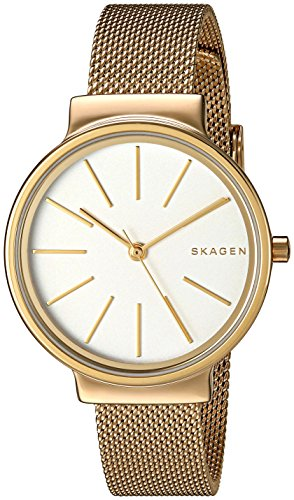 スカーゲン 腕時計 レディース SKW2477 【送料無料】Skagen Women's SKW2477 Ancher Gold Mesh Watchスカーゲン 腕時計 レディース SKW2477