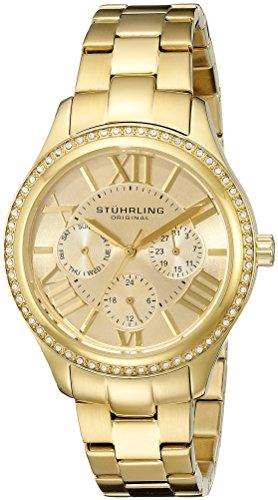 ストゥーリングオリジナル 腕時計 レディース 391LS.02 【送料無料】Stuhrling Original Women's 391LS.02 Regent Lady Majestic Quartz Swarovski Gold Tone Watchストゥーリングオリジナル 腕時計 レディース 391LS.02