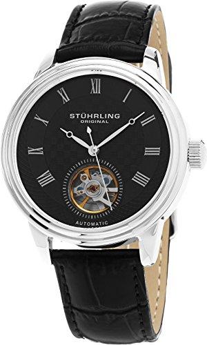 ストゥーリングオリジナル 腕時計 メンズ 780.02 Stuhrling Original Men's 780.02 Legacy Analog Display Automatic Self Wind Black Watchストゥーリングオリジナル 腕時計 メンズ 780.02