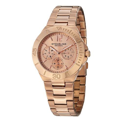 ストゥーリングオリジナル 腕時計 レディース 558.03 【送料無料】Stuhrling Original Women's 558.03 Lady Capital Date Roseストゥーリングオリジナル 腕時計 レディース 558.03
