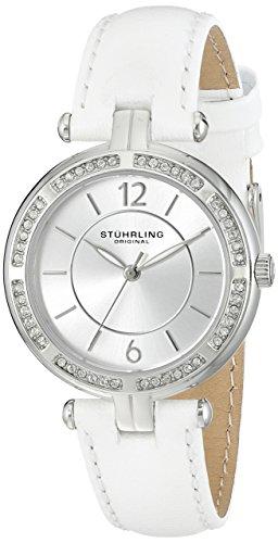 ストゥーリングオリジナル 腕時計 レディース 550.01 Stuhrling Original Women's 550.01 Stainless Steel Watch with White Bandストゥーリングオリジナル 腕時計 レディース 550.01