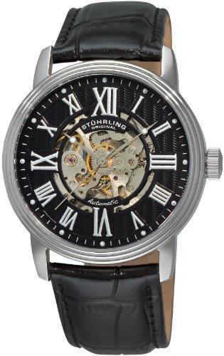 ストゥーリングオリジナル 腕時計 メンズ 1077.33151 Stuhrling Original Men's 1077.33151 Classic Delphi Venezia Stainless Steel Watch with Leather Bandストゥーリングオリジナル 腕時計 メンズ 1077.33151