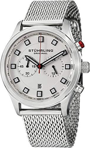 ストゥーリングオリジナル 腕時計 メンズ 562.33113 【送料無料】Stuhrling Original Men's 562.33113 Champion Victory Elite Stainless Steel Watch with Mesh Braceletストゥーリングオリジナル 腕時計 メンズ 562.33113