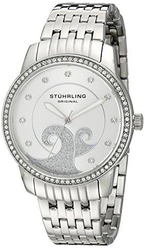 ストゥーリングオリジナル 腕時計 レディース 569.01 Stuhrling Original Women's 569.01 Coronet Analog Display Quartz Silver Watchストゥーリングオリジナル 腕時計 レディース 569.01