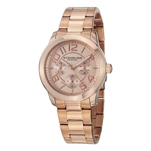 ストゥーリングオリジナル 腕時計 レディース 807.03 【送料無料】Stuhrling Original Men's 807.03 Regal MF Date Roseストゥーリングオリジナル 腕時計 レディース 807.03