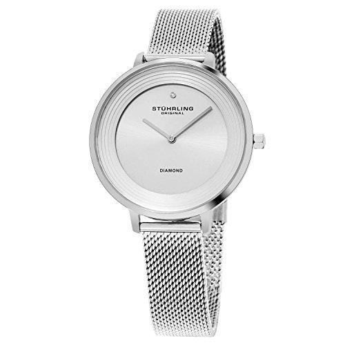 ストゥーリングオリジナル 腕時計 レディース 【送料無料】Stuhrling Original Women's Diamond Dress Watchストゥーリングオリジナル 腕時計 レディース