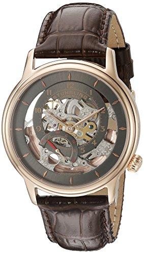 ストゥーリングオリジナル 腕時計 メンズ 782.03 Stuhrling Original Men's 782.03 Legacy Analog Display Automatic Self Wind Brown Watchストゥーリングオリジナル 腕時計 メンズ 782.03