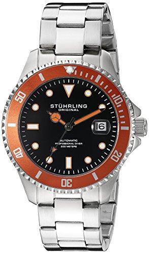 ストゥーリングオリジナル 腕時計 メンズ 792.03 Stuhrling Original Men's 792.03 Aquadiver Analog Display Automatic Self Wind Silver Watchストゥーリングオリジナル 腕時計 メンズ 792.03