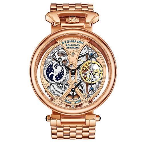 ストゥーリングオリジナル 腕時計 メンズ 797.03 【送料無料】Stuhrling Original Men's 797.03 Legacy Analog Display Automatic Self Wind Rose Gold Watchストゥーリングオリジナル 腕時計 メンズ 797.03