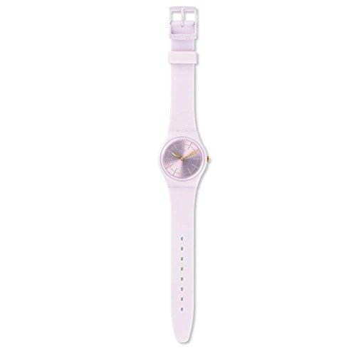 スウォッチ 腕時計 レディース GP148 Swatch Originals Guimauve Pink Dial Silicone Strap Ladies Watch GP148スウォッチ 腕時計 レディース GP148